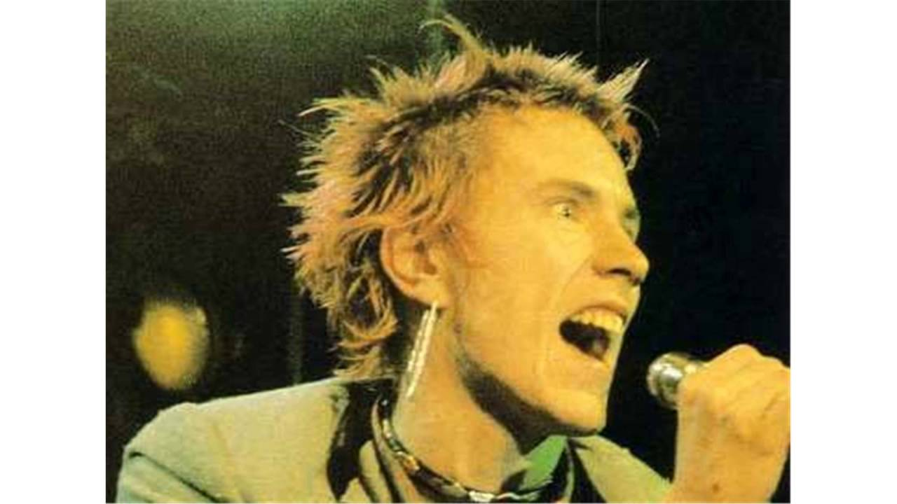 Image result for johnny rotten young