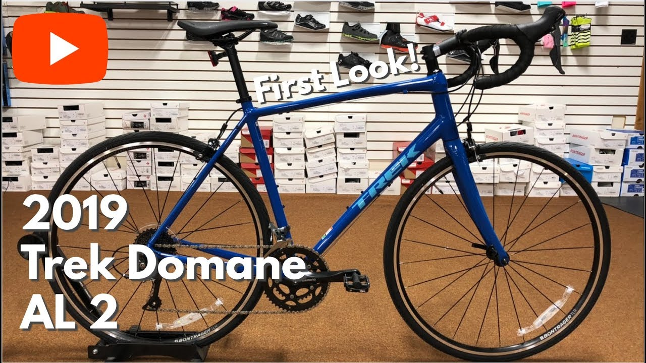 FIRST LOOK! The all new 2019 Trek Domane AL 2