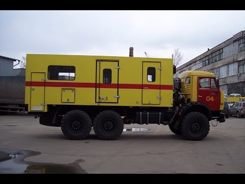 автомастерская на базе камаз 25 тонн Красногорск