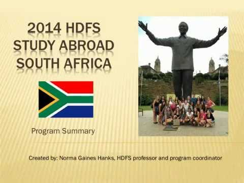 Click to play video Study Abroad in South Africa