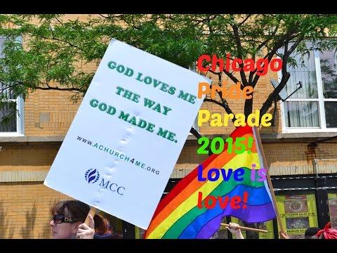 Chicago Gay/LGBT Pride Parade 2015