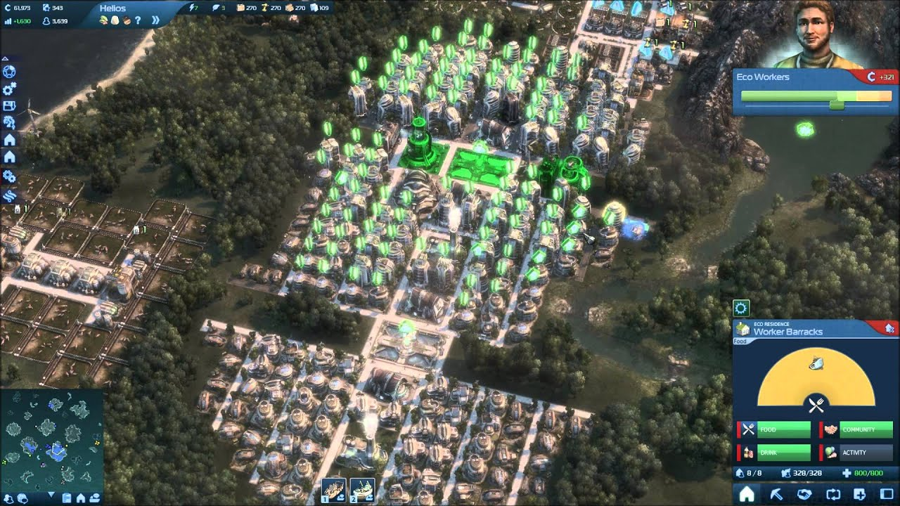Anno 2070 production layouts eco dairy youtube for Anno 2070 find architect