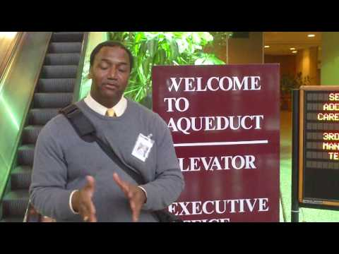 04092010 Malcolm I. McDaniel at Sen. Addabbo Jr's Job Fair @ Aqueduct Race Track Queens, NYC