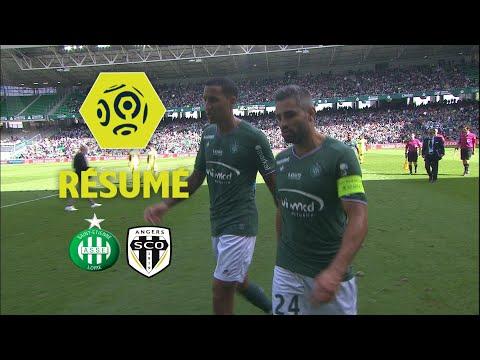 AS Saint-Etienne - Angers SCO (1-1)  - Résumé - (ASSE - SCO) / 2017-18