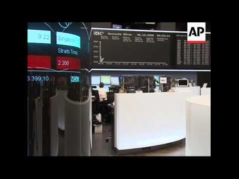 Stock exchange reax to Hypo rescue, financial turmoil