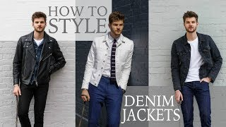 HOW TO STYLE: DENIM JACKETS