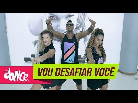 Mc Sapão - Vou Desafiar Você - FitDance - 4k | Coreografia