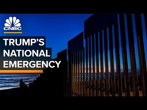 The Legal Battle Over President Trump's National Emergency Declaration