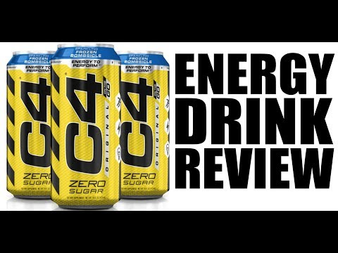 NEW ENERGY DRINK! | C4 Original On The Go Review