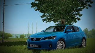 City Car Driving - Lexus CT200h 2011 | Morning Drive | + Download [LINK] | 1080p & G27