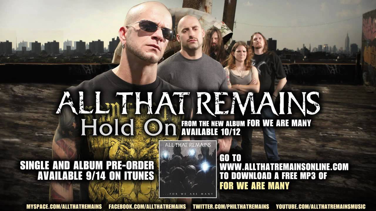 all that remains hold on free mp3 download