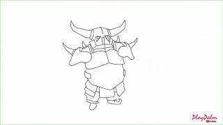 how to draw a pekka