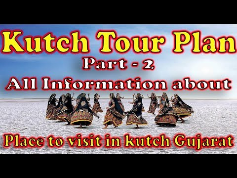 Kutch Gujarat Tourism Guide  Part2  Great Rann of Kutch  rann of kutch festival  vaibhav vlogs
