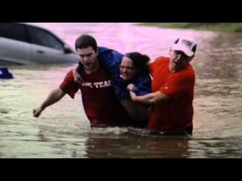 Texas Floods 3 Dead 8 Missing Also Oklahoma