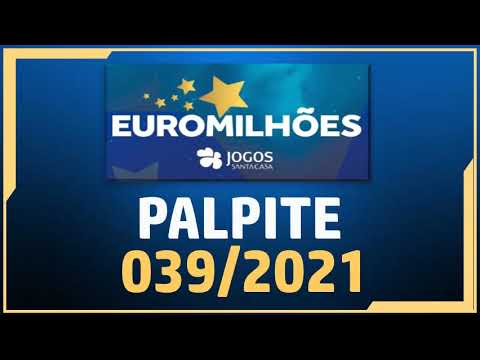 EUROMILHOES 039/2021 | CHAVES EUROMILHÕES | PALPITE EUROMILHOES 14-05-2021