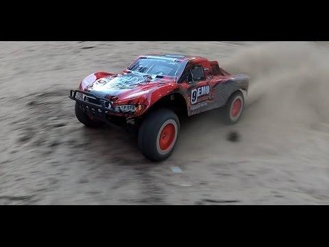 Тест-драйв шорт-корс трака REMO HOBBY 9EMO ULTIMATE 4WD