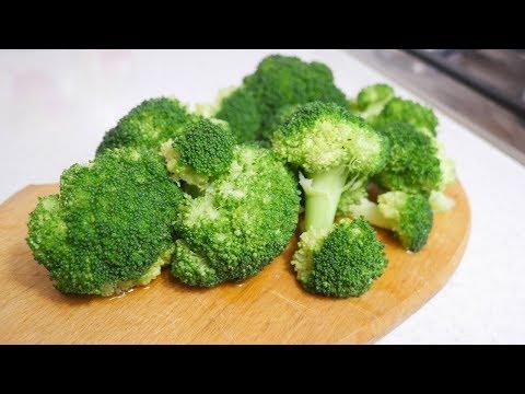 Как и сколько варить брокколи?
