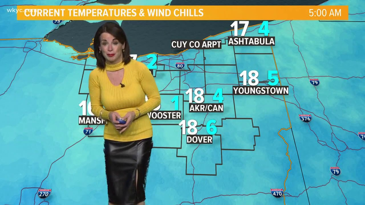 morning weather forecast for northeast ohio  january 30