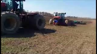 Весенняя Посевная 2018 года трактор Булер 450 л.с застрял в поле