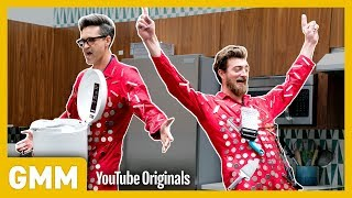 How magnetic is our attraction to one another? We put full body magnet suits to the test! GMM #1273.2 Watch Part 3: https://youtu.be/ZojOtnqfmMg | Watch Part ...