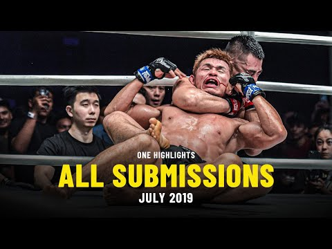 All Submissions In July 2019 | ONE Full Fights