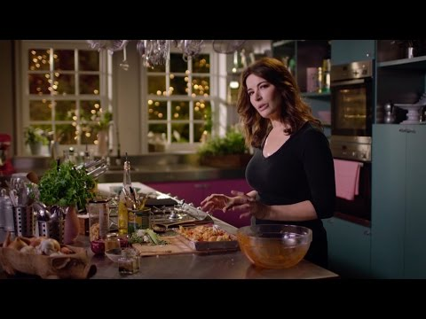 Warm spiced Cauliflower and Chickpea salad recipe Simply Nigella: Episode 1 BBC Two