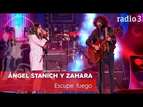 ÁNGEL STANICH Y ZAHARA - Escupe fuego | Concierto 40 años Constitución | Radio 3