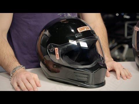 Simpson Street Bandit Helmet Review at RevZilla.com