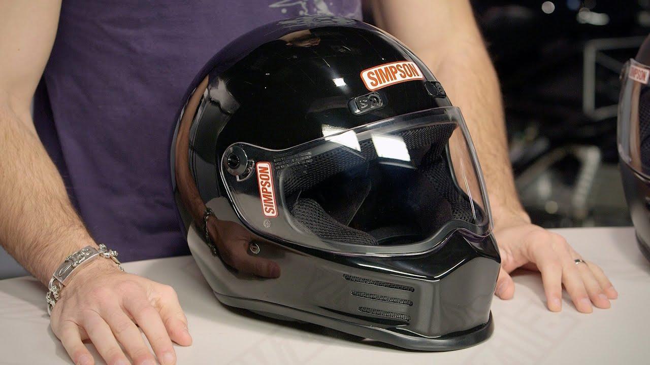 c7acc0c0 Simpson Street Bandit Helmet Review at RevZilla.com - YouTube
