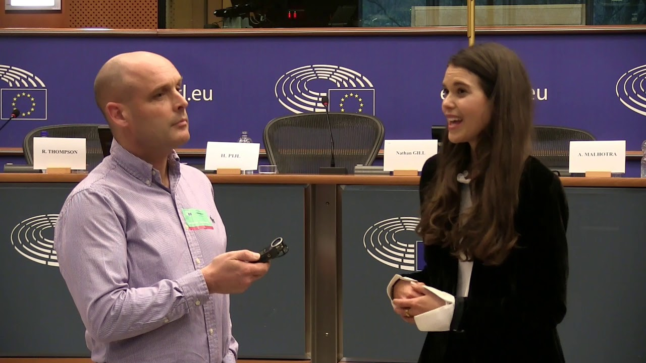 Progressive Nutritionist Sarah Macklin at the European Parliament #LCHF