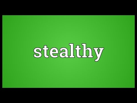 Stealthy Meaning