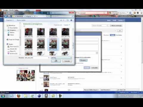 Como Enviar Fotos Por Mensajes En Facebook