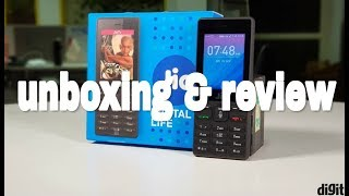 Jio phone  | unboxing & review in malayalam