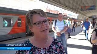Russie : lancement du premier train touristique vers l'Arctique