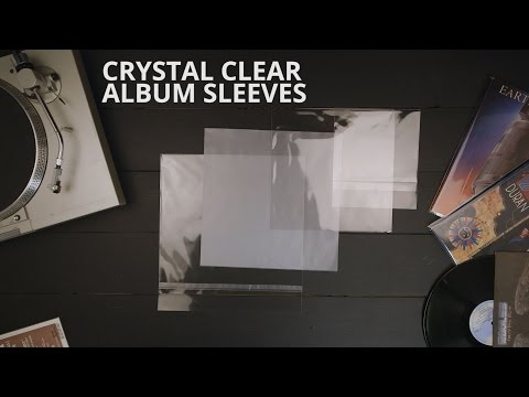 Crystal Clear Album Sleeves