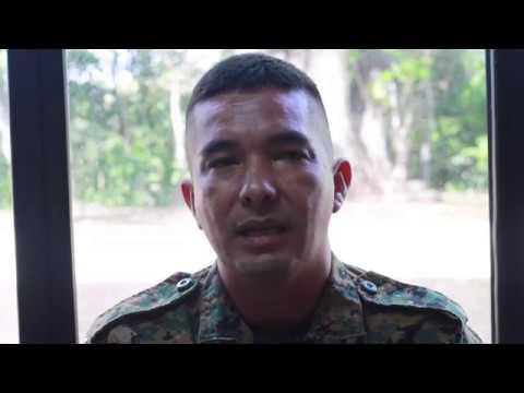 Día Mundial de la Salud testimonio Yo sobriviví Sargento 2do. Oscar Muñoz