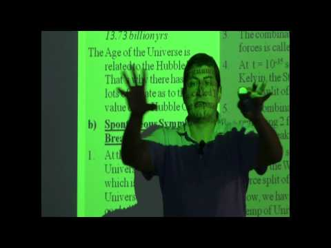 Lecture 13 (Spontaneous Symmetry Breaking)
