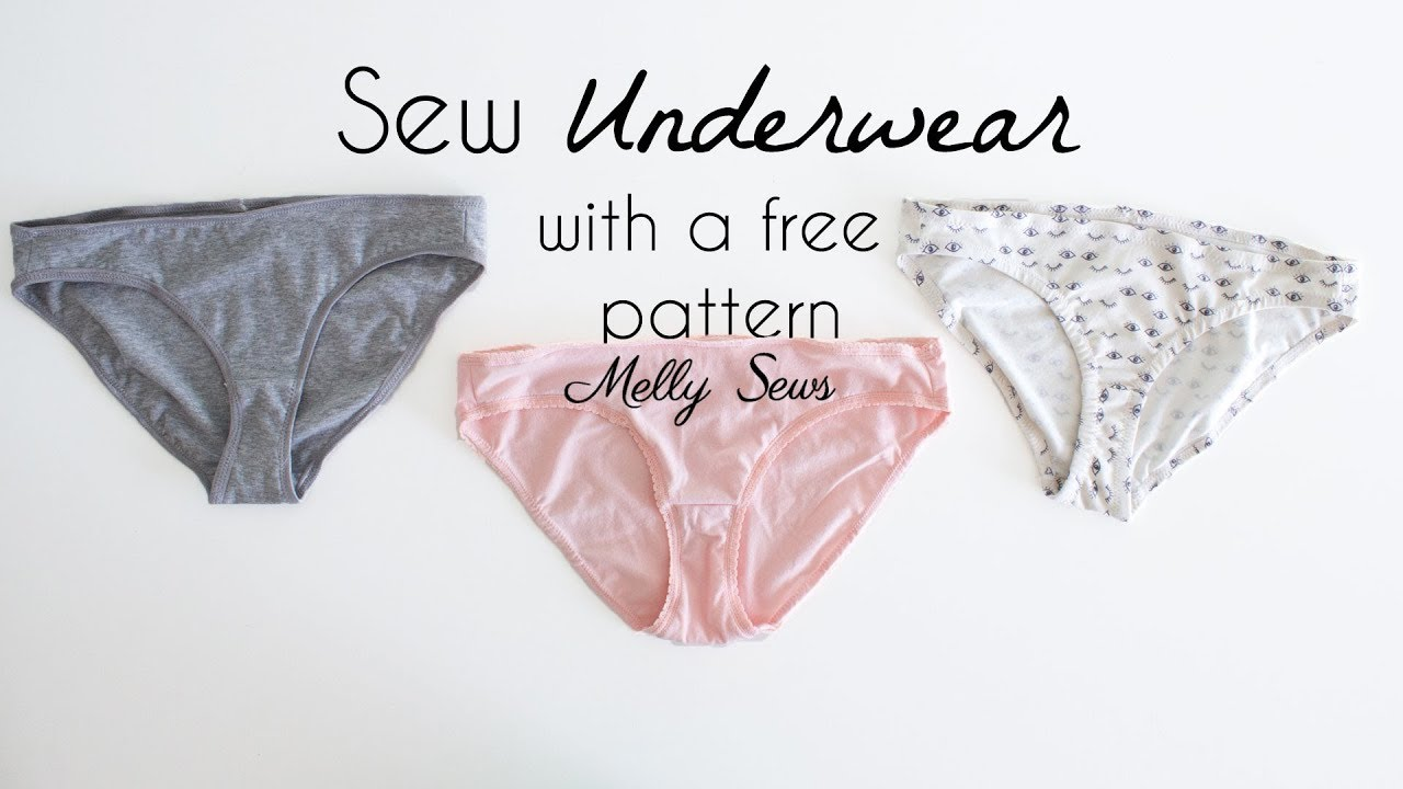 93b1d5142dd Sew Underwear with a Free Panties Pattern - YouTube