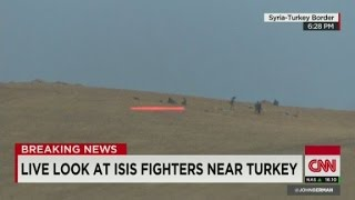 ISIS fighting near Turkey-Syria border
