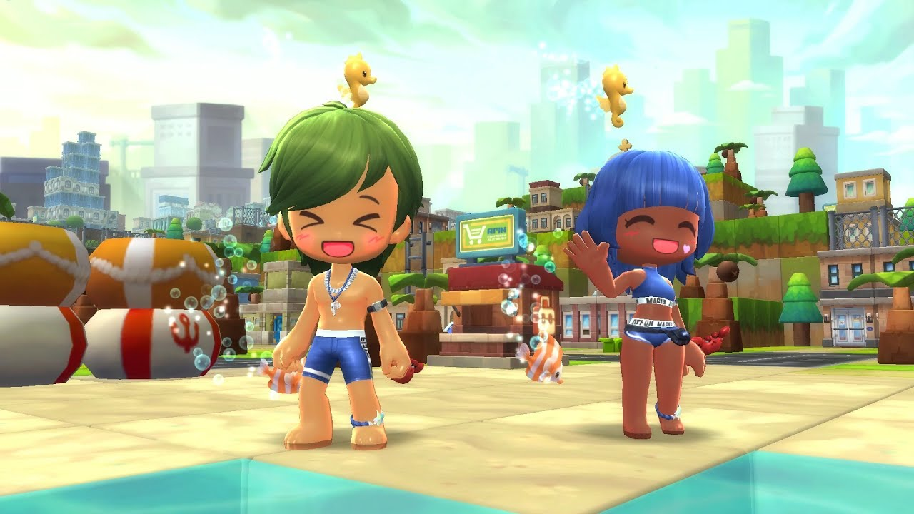 MapleStory 2 July Style Crate