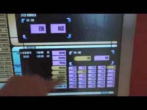 Lcars Touchscreen Home Control Like Star Trek Youtube