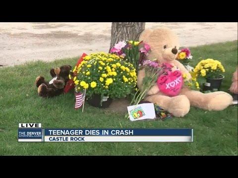 Castle Rock high school student killed in crash