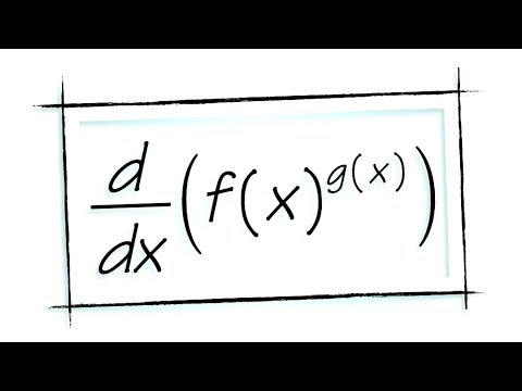 Proving the power, product and quotient rules by using logarithmic differentiation & the chain rule