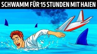 Ein Pilot Überlebte Einen Flugzeugabsturz Und 15 Stunden Zwischen Hungrigen Haien