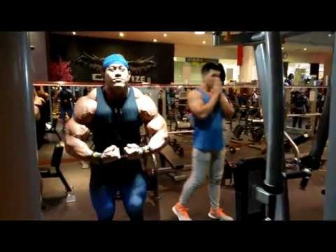 FULL Video Igedz Program Latihan Otot Bahu Di osbond Mega Gym Jakarta