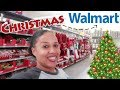 WALMART CHRISTMAS 2018  SHOP WITH ME   CHRISTMAS DECOR