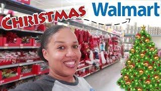 WALMART CHRISTMAS 2018/ SHOP WITH ME.. CHRISTMAS DECOR