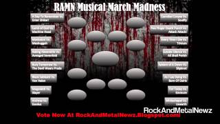 Baixar RockAndMetalNewz Musical March Madness! Vote For Your Favorite Bands! Round 1!