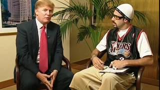 Ali G donald trump sacha baron Cohen interview