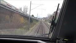 Cab Ride Teil 1 : RBDe 500 (ICN) Biel/Bienne, Neuchâtel, Yverdon-les-Bains